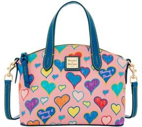 Dooney & Bourke Heart Ruby Bag Top Handle Bag - RASPBERRY - STYLE