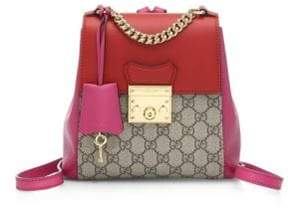 Gucci Padlock Backpack - BEIGE-ORANGE - STYLE