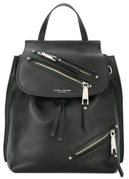 Marc Jacobs Women's Black Leather Backpack. - BLACK - STYLE