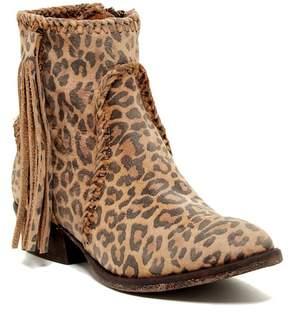 Matisse Sibel Leopard Print Western Bootie