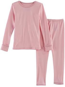 Cuddl Duds Toddler Girl 2-pc. Base Layer Top & Pants Set