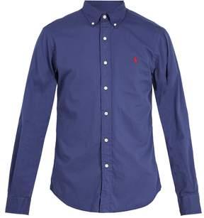 Polo Ralph Lauren Logo-embroidered button-down cotton shirt