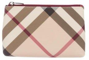 Burberry Super Nova Check Cosmetic Bag