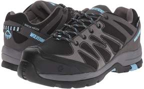 Wolverine Fletcher NT Low WPF Work Hiker Women's Lace up casual Shoes