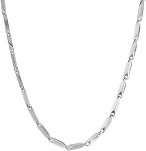 JCPenney FINE JEWELRY Mens Stainless Steel 24 3mm Link Chain