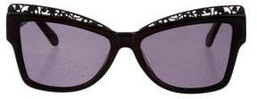 Karen Walker Filigree Atomic Sunglasses