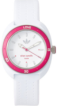 adidas ADH3188 White & Pink Stan Smith Watch