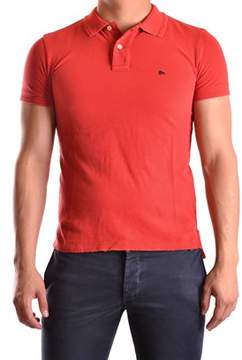 Cycle Men's Red Cotton Polo Shirt.