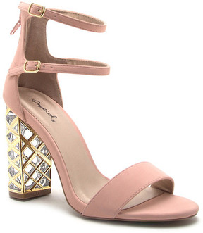 Qupid Adeline One Band Strappy Sandal