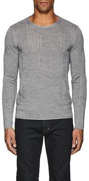 John Varvatos Men's Linen-Blend Sweater
