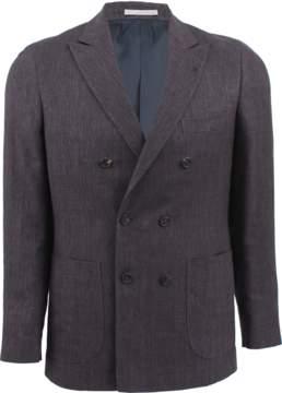 Brunello Cucinelli Chevron Patch Jacket