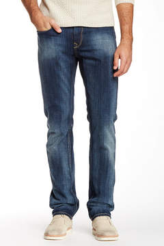 Robert Graham Simply Blue Straight Leg Denim Jean