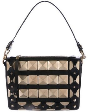 Versace Studded Shoulder Bag