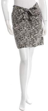 Cacharel Draped Printed Skirt