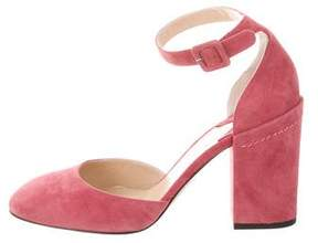 Paul Andrew Bastioni Suede Pumps w/ Tags