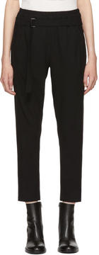 Ann Demeulemeester Black Belted Lounge Pants