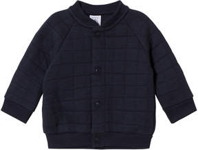 Petit Bateau Navy Quilted Cardigan