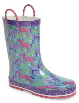 Western Chief Girl's Hannah Horse Rain Boot