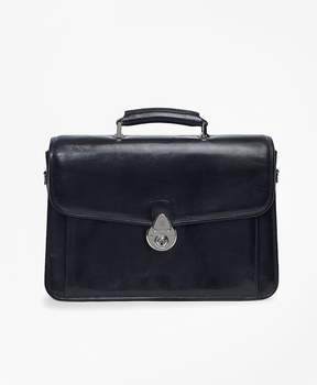 Brooks Brothers Single Gusset Classic Briefcase