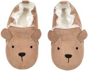 H&M Faux Fur-lined Slippers
