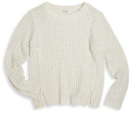 Splendid Girl's Lurex Sweater