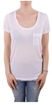 Sun 68 Women's White Modal T-shirt.