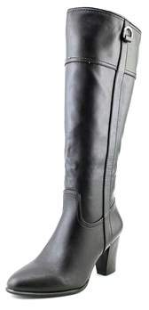 Alfani Carcha Wide Calf Round Toe Synthetic Knee High Boot.