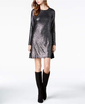 Bar III Sequined Shift Dress, Created For Macy's