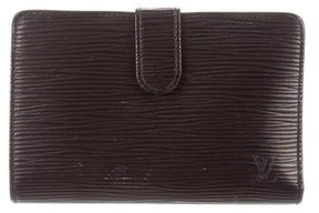 Louis Vuitton Epi French Purse Wallet - BLACK - STYLE