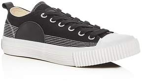 McQ Swallow Plimsoll Lace Up Sneakers