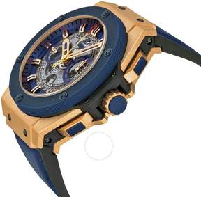 Hublot King Power Special One Automatic Chronograph Skeleton Dial Men's Watch 701OQ0138GRSPO14