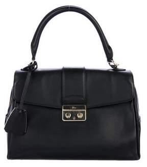 Christian Dior Leather Flap Satchel