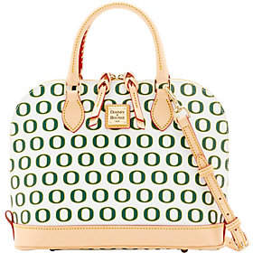 Dooney & Bourke NCAA University of Oregon ZipZip Satchel - ONE COLOR - STYLE