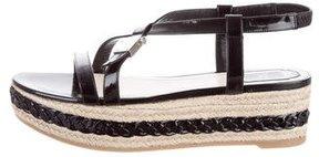 Christian Dior Platform Espadrille Sandals