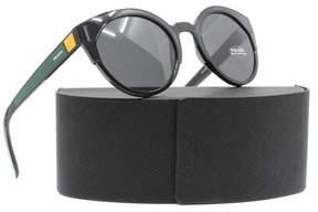 Prada New Women SPR 03U Black 07E-5S0 SPR03US 53mm