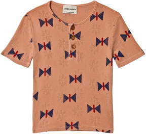 Bobo Choses Muted Clay Butterfly Buttons T-Shirt