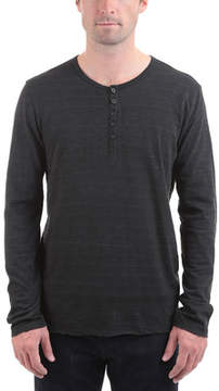 ATM Anthony Thomas Melillo Cotton Jersey Space Dyed Henley (Men's)