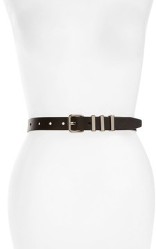 Rebecca Minkoff Women's Suzy Leather Belt