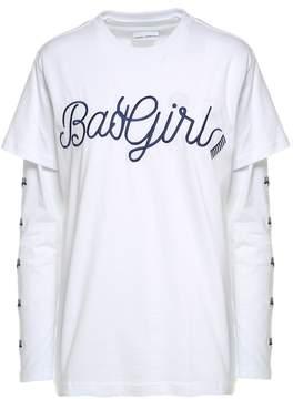 Chiara Ferragni Bad Girl Cotton Double T-shirt