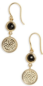 Anna Beck Women's Semiprecious Stone Double Drop Earrings