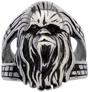 Star Wars FINE JEWELRY Stainless Steel Chewbacca 3D Ring