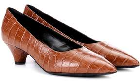 Marni Exclusive to mytheresa.com – Embossed leather pumps