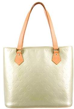 Louis Vuitton Vernis Houston Tote - GREEN - STYLE