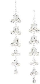 Cezanne Rhinestone Shower Earrings
