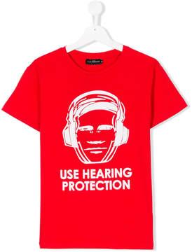 John Richmond Kids Teen hearing protectino T-shirt