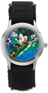Disney Disney's Mickey Mouse Soccer Boys' Time Teacher Watch