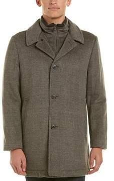 Hart Schaffner Marx Macbeth Wool-blend Coat.