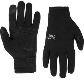 Arc'teryx Rivet Leather-Panelled Polartec® Power Stretch® Tech Gloves