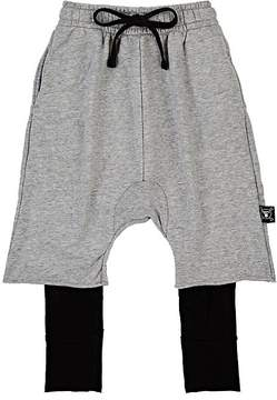 Nununu Layered Cotton Terry Shorts