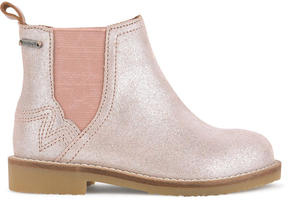 Pepe Jeans Suede leather boots